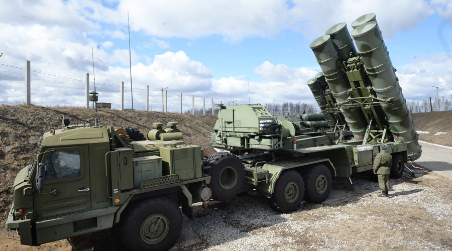 Russian S-400 antiaircraft system