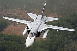 Russian Su-24 bomber