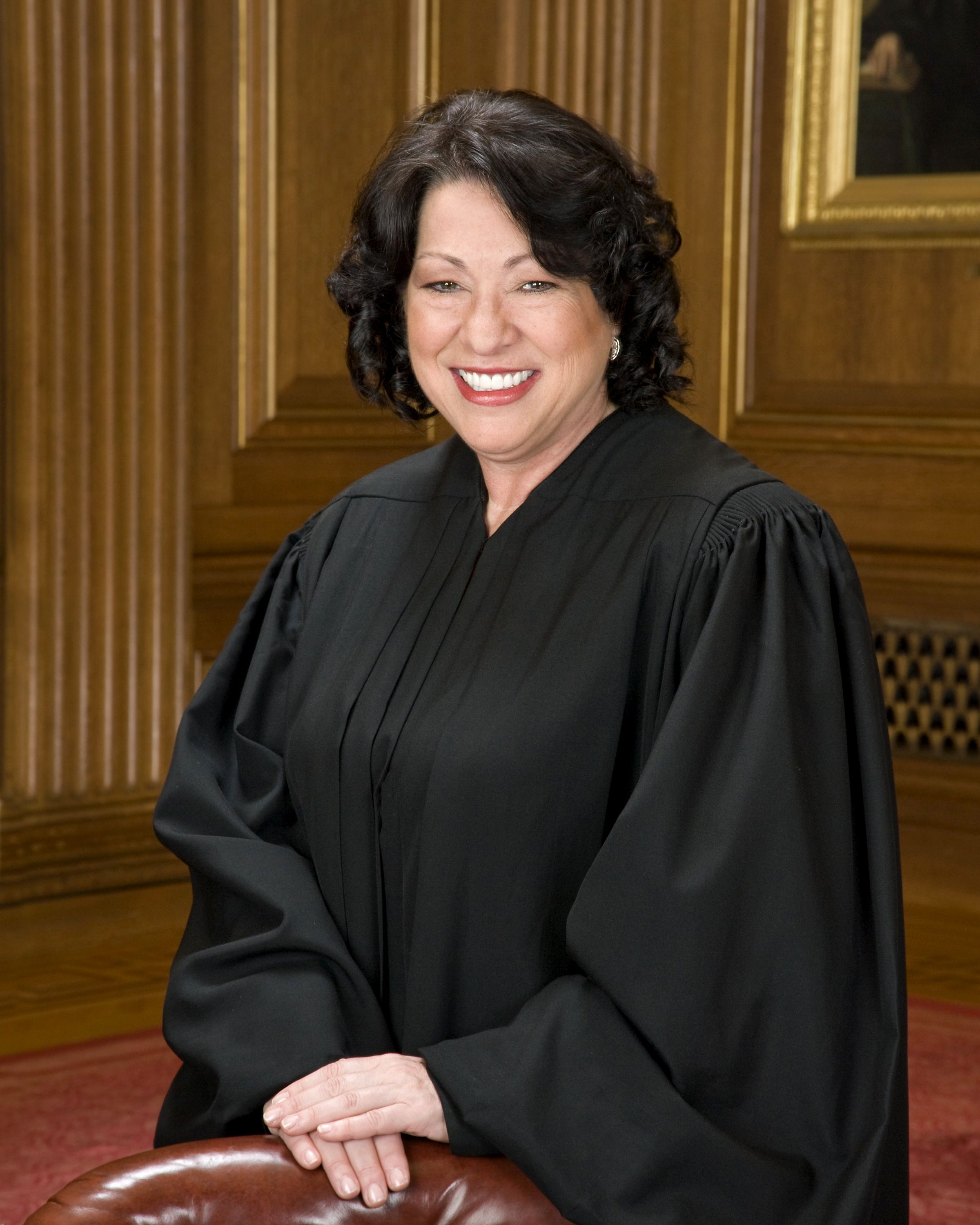 Sonia Sotomayor in SCOTUS robe