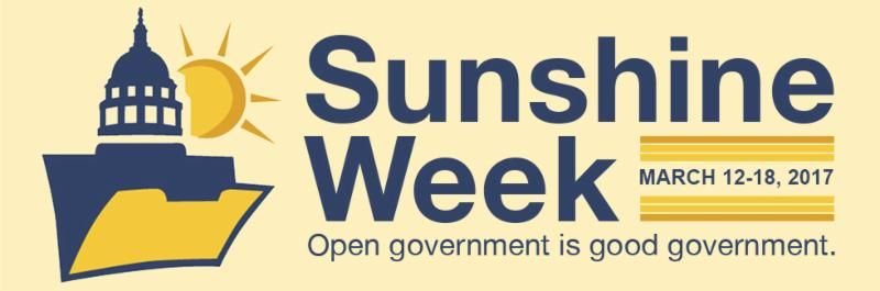 Sunshine Week logo 2017