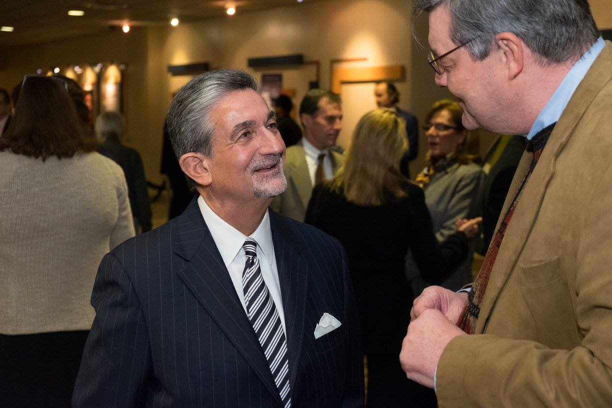 Ted Leonsis and Andrew Kreig Nov. 9, 2015