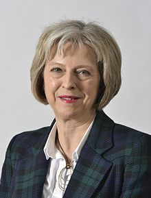 Theresa May official photo