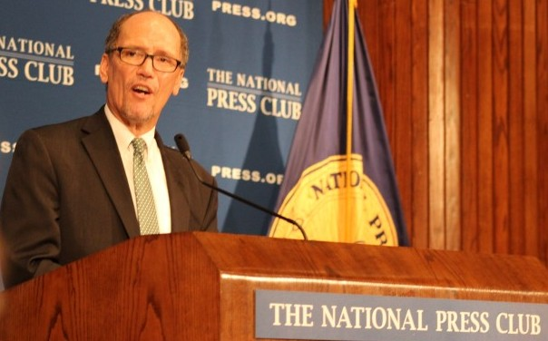 Tom Perez National Press Club June 22, 2016