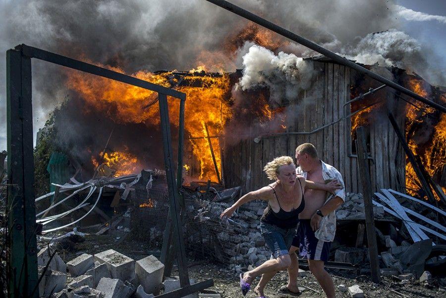 Ukraine couple Фото: Валерий Мельников Ria Novosti Valeriy Meinikov