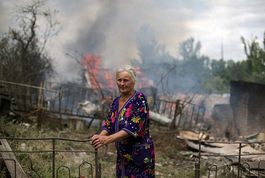 Ukraine woman RIA