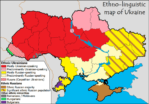 Ukraine Map Wikimedia Commons