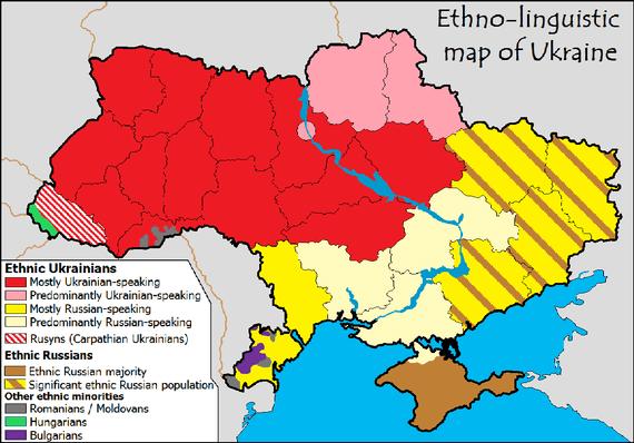 Ukraine Map Wikimedia Commons