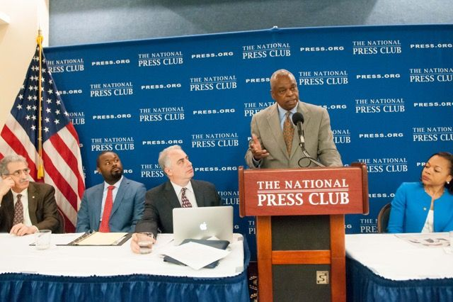 Wade Henderson National Press Club May 13, 2016 Photo by Noel St. John