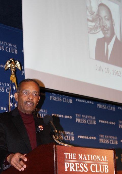 Joe Madison at MLK event at NPC Jan. 12, 2016