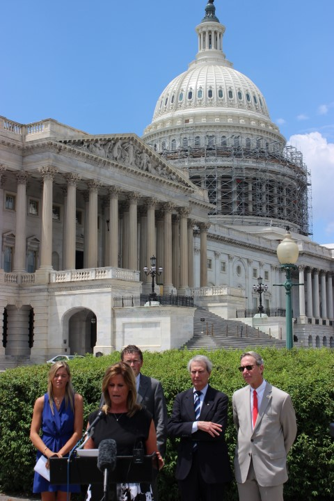 9/11 widow Terry Strada, daughter Kaitlyn, three congressmen advocate for 28 pages release July 6, 2016