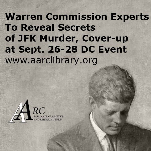 AARC Warren Commission conference 2014 on John F. Kennedy