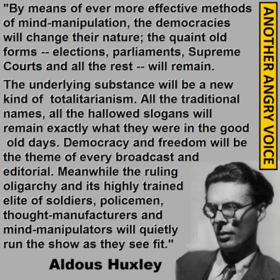 Aldous Huxley quotations