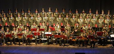 Aleksandrov Ensemble (Performing in Poland in 2009) via Wikimedia