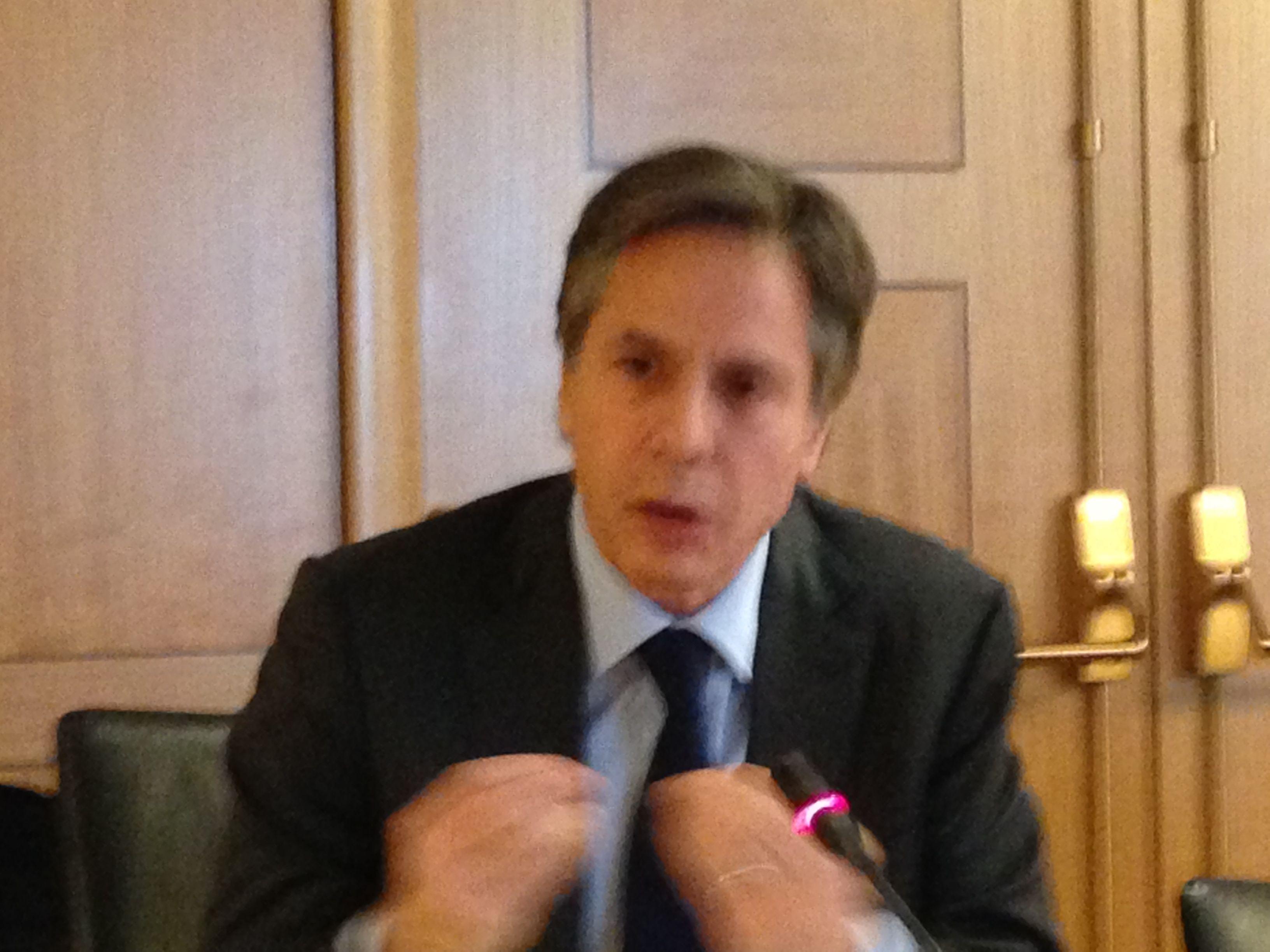 Antony Blinken State Department JIP