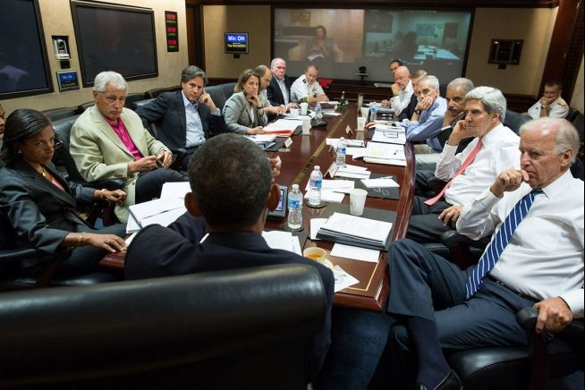 Barack Obama and National Security Staff 8-31-13