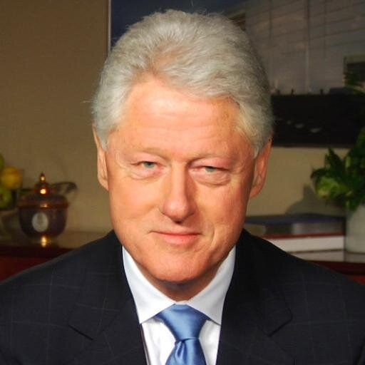 Bill Clinton Twitter photo