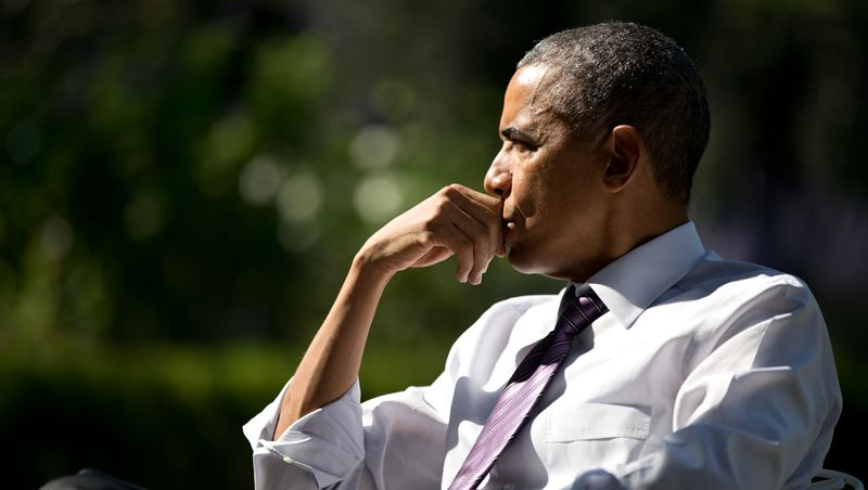 President Obama headshot white House
