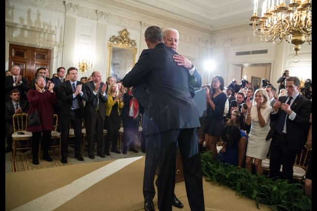 President Obama and Joseph Biden Farewell Jan. 12, 2017