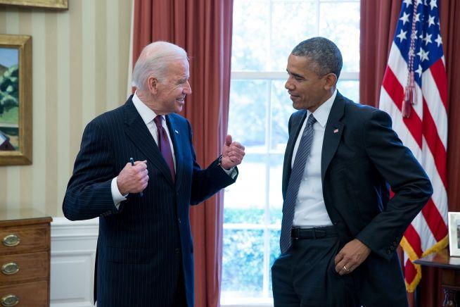 President Obama, Joe Biden, May 6, 2015