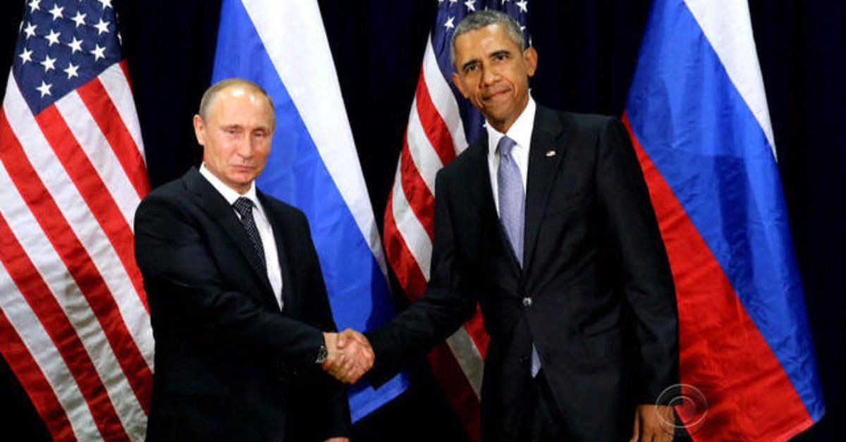 President Obama and Russian President Vladimir Putin at the G-20 Summit on Sept. 5, 2016