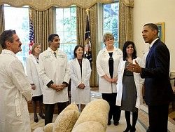 Barack Obama Meets Doctors Oct. 13, 2013