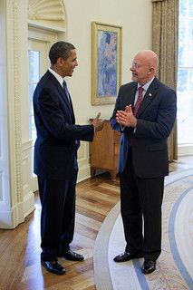Barack Obama and James Clapper (White House Photo)