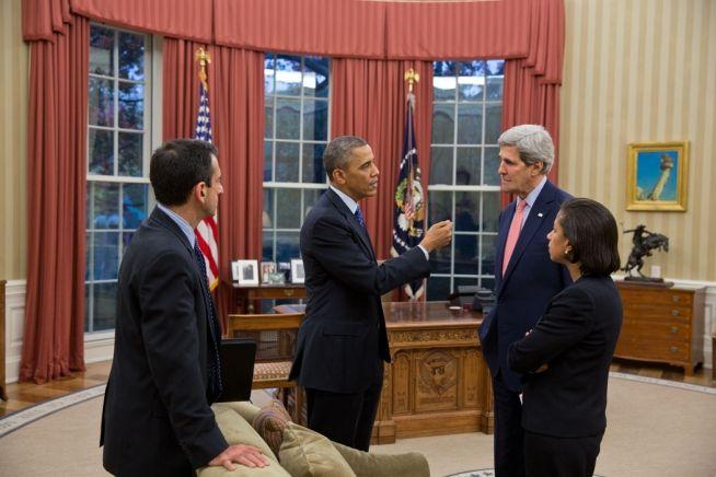 Barack Obama, John Kerry, Susan Rice, Phil Gordon Nov. 22, 2013