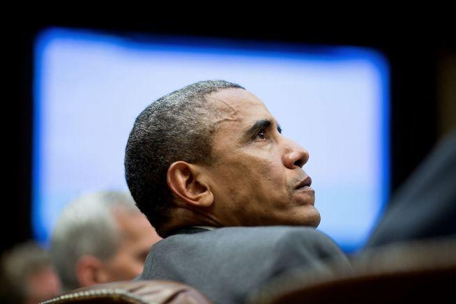 Barack Obama head shot Aug. 4, 2014