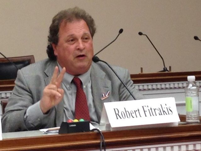 Robert Fitrakis, JIP Photo, congressional briefing April 2016