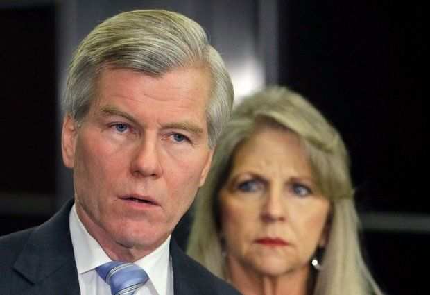 Bob McDonnell and Maureen McDonnell flickr