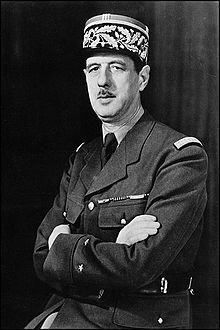 Charles de Gaulle (Brigadier General during WW II)