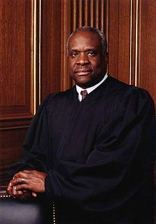 Clarence Thomas official photo