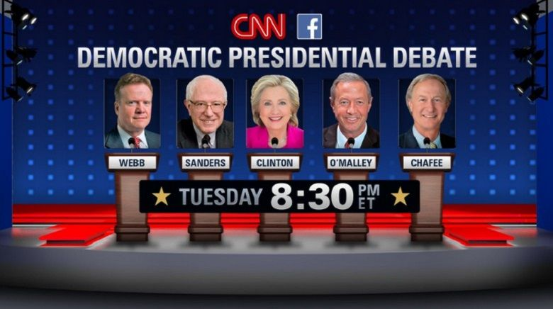 Democratic 2016 CNN Debate Oct. 14, 2015
