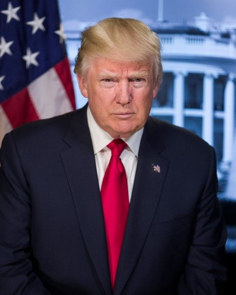 President Donald Trump official