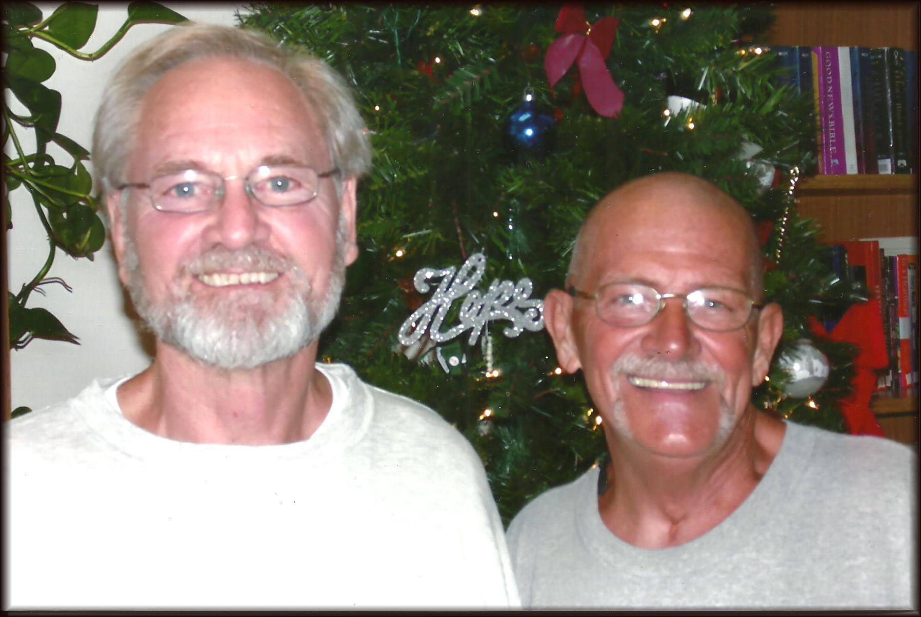 Don Siegelman with Charles Cloud Dec. 11, 2015 at Oakdale, LA