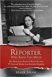 Dorothy Kilgallen book cover by Mark Shaw