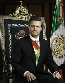 Enrique Peña Nieto Mexican president official portrait