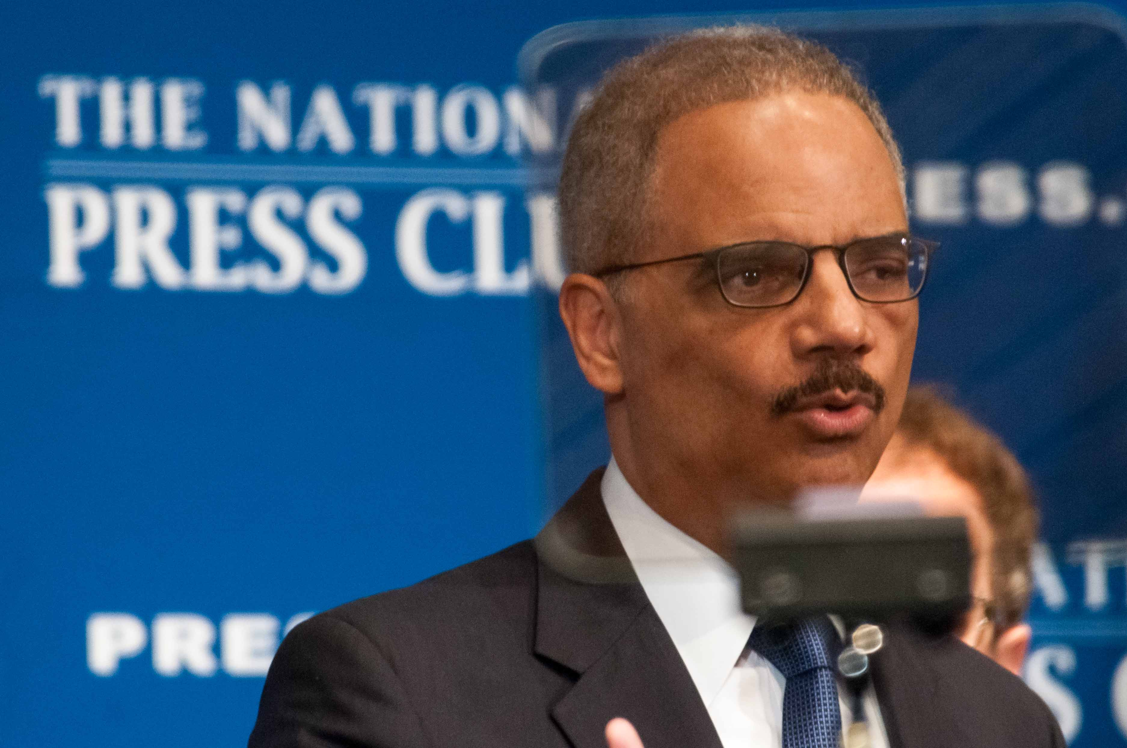 Eric Holder NPC Noel St. John 1 Feb. 17, 2015