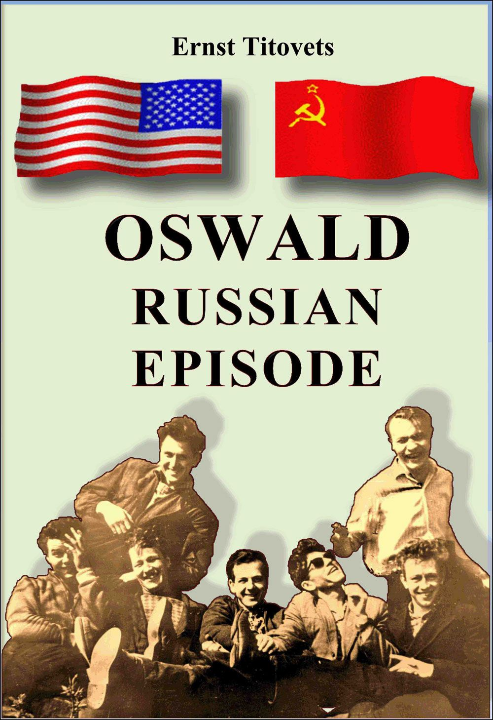 Ernst Titovets Cover of Oswald: Russian Episode