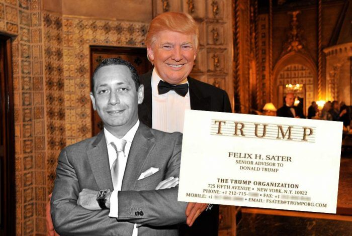 Felix Sater with Donald Trump (via Flickr of Emilio Labrador)