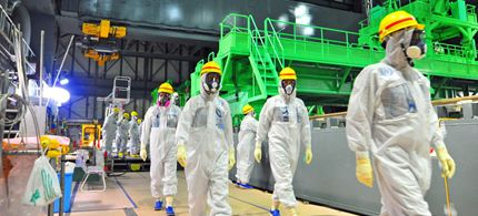 IAEA Inspectors at TEPCO plant at Fukishima Nov. 27, 2013 (Photo by International Atomic Energy Agency)