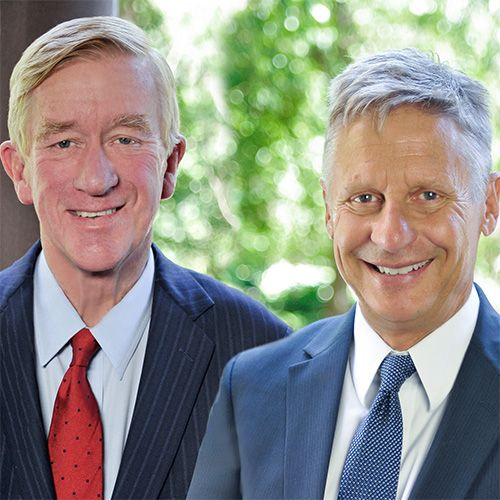 Gary Johnson and Bill Weld campaign photo