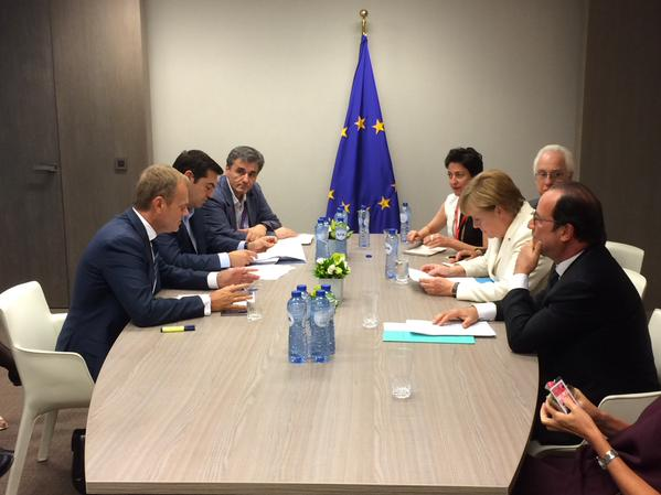 Greek Negotiators