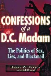 """Henry Vinson """"Confessions of a DC Madam"""" cover"""