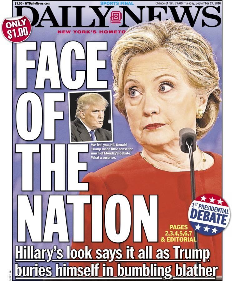 Hillary Clinton Donald Trump Post debate