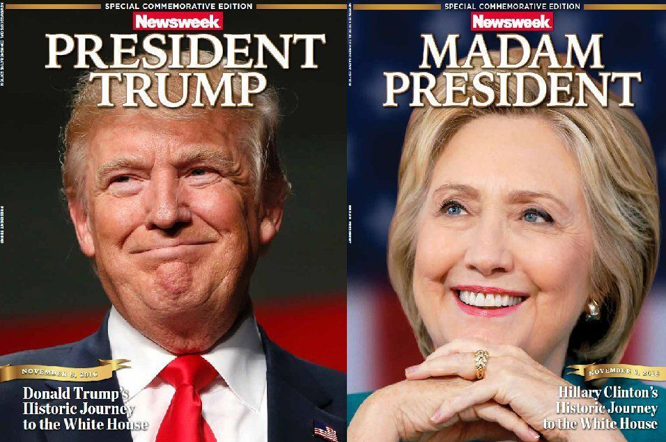 Special editions prepared under the Newsweek banner for Election Night
