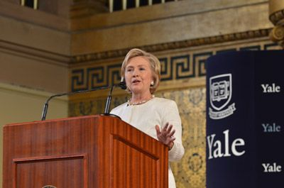 Hillary Clinton Yale Law School