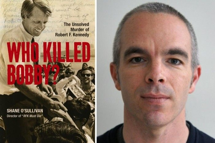 Shane O'Sullivan and book RFK book