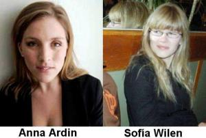 Anna Ardin and Sofia Wilen