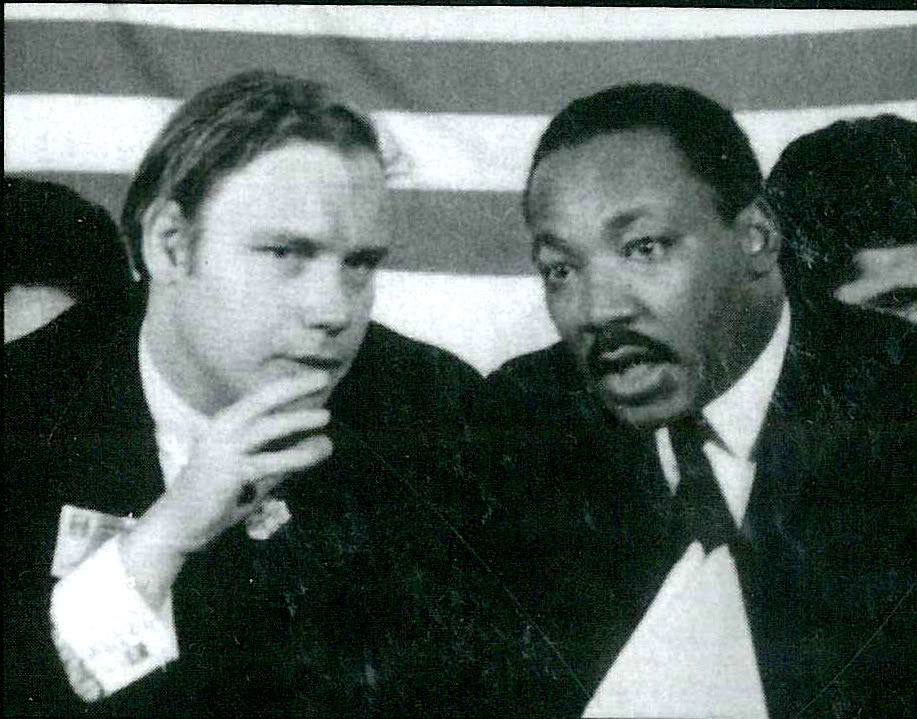 William Pepper and Martin Luther King Jr.